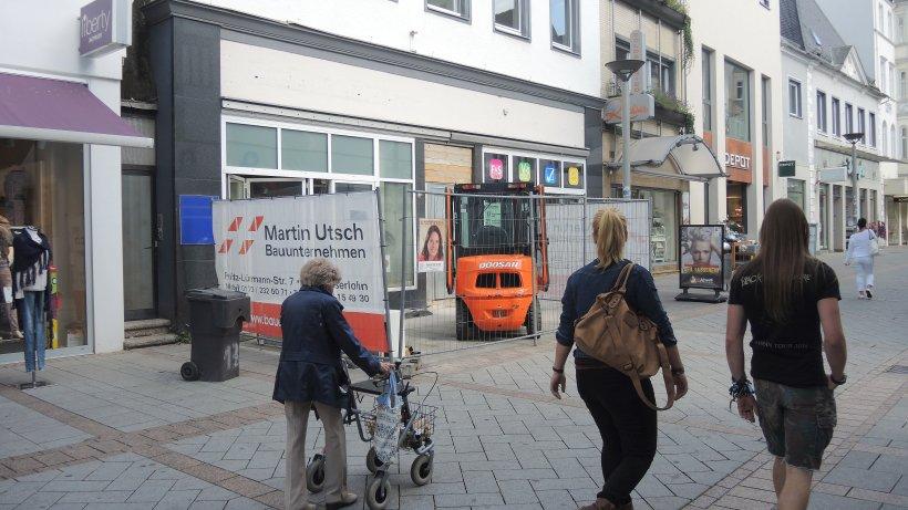 Bauunternehmen Iserlohn kommen und gehen in der iserlohner innenstadt ikz de iserlohn