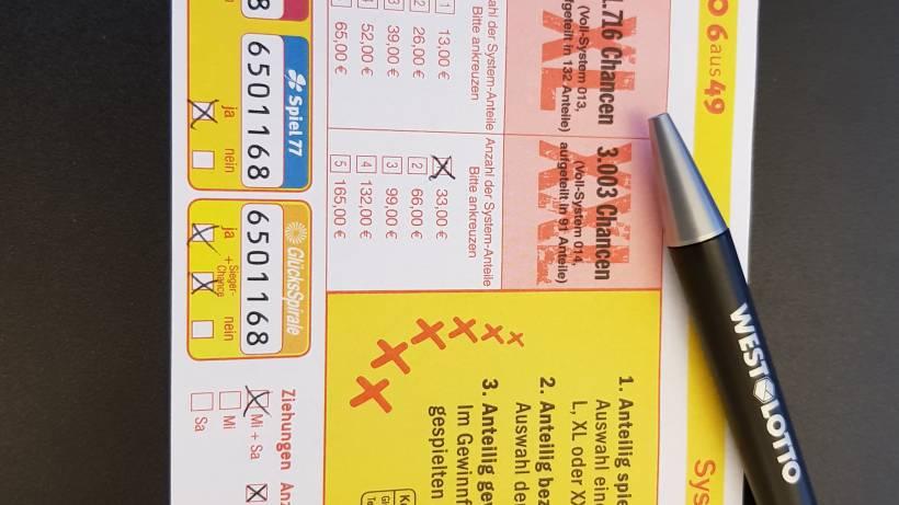 System Anteil Xxl Lottofreude Darf Geteilt Werden Ikz Online De