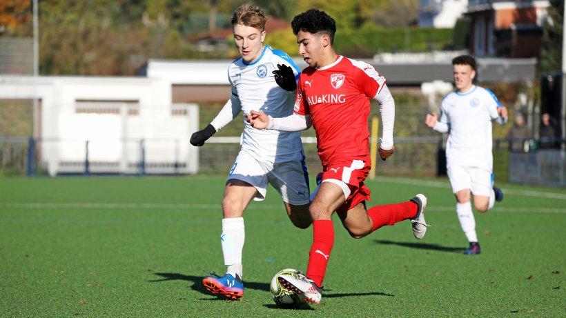 Schöne Momentaufnahme für FCI-A-Junioren - IKZ News