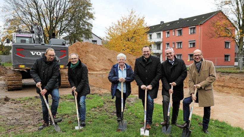 Baustart für 36 preiswerte Mietwohnungen in Kamp-Lintfort - IKZ