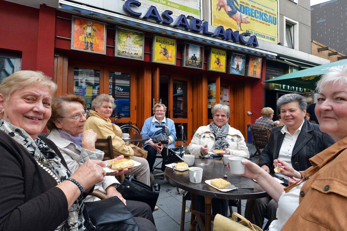 Trotz Corona: WAZ-Kino-Café im Casablanca Bochum startet neu