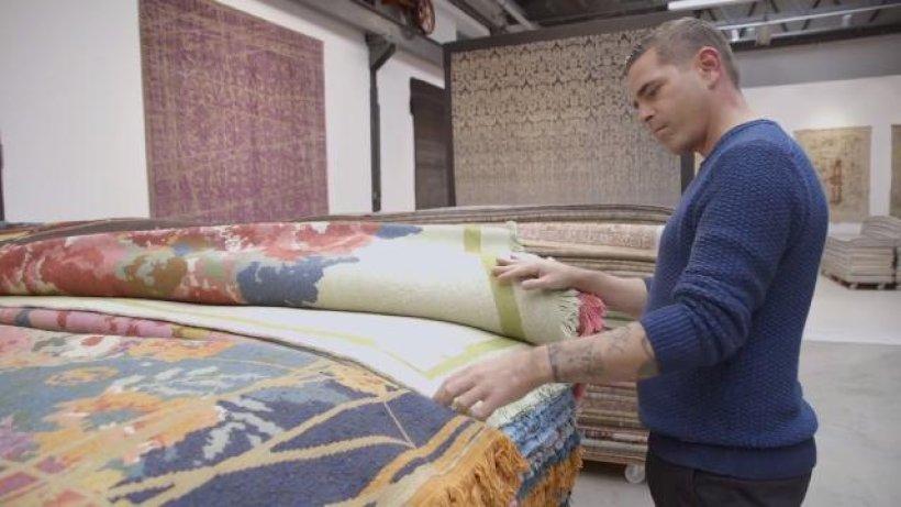 wie der bochumer designer jan kath die teppichbranche pr gt ikz video. Black Bedroom Furniture Sets. Home Design Ideas