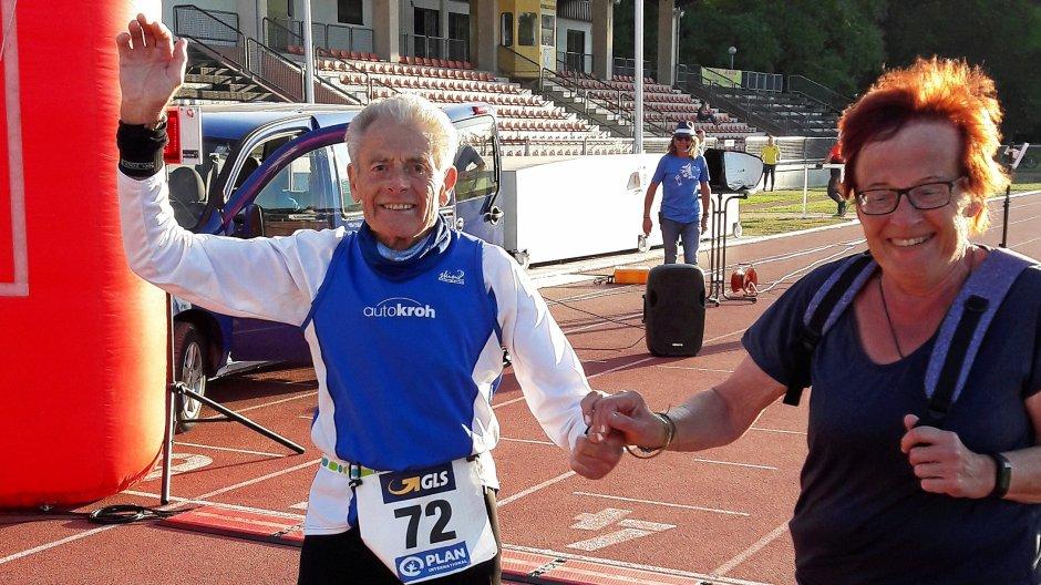 Deutscher Rekord in der M80: Werner Stöcker triumphiert