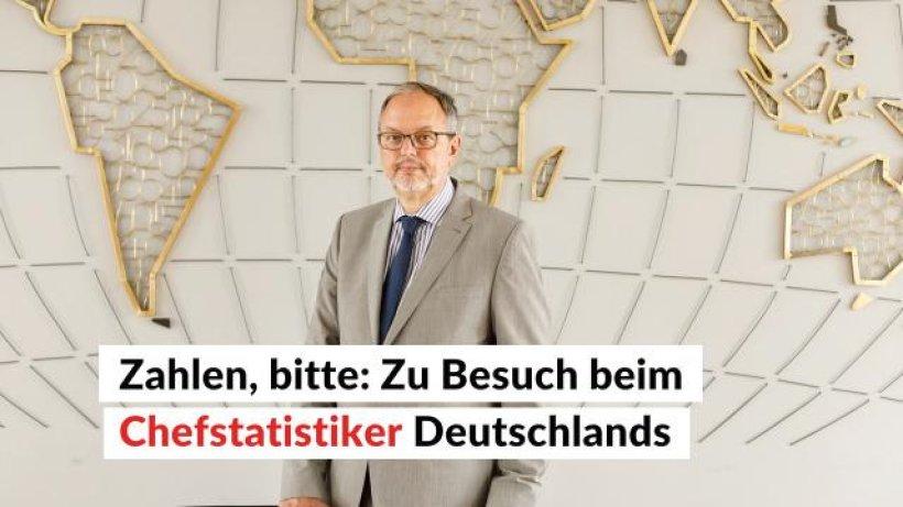 zahlen bitte zu besuch beim chefstatistiker deutschlands ikz video. Black Bedroom Furniture Sets. Home Design Ideas