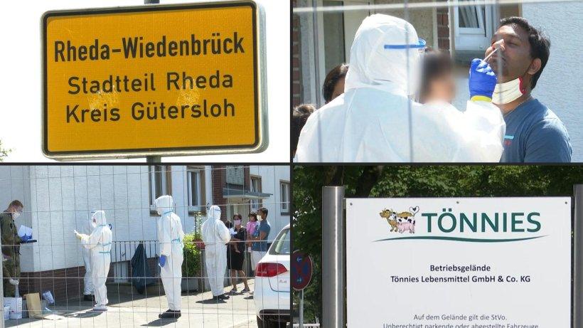 Lockdown In Gütersloh